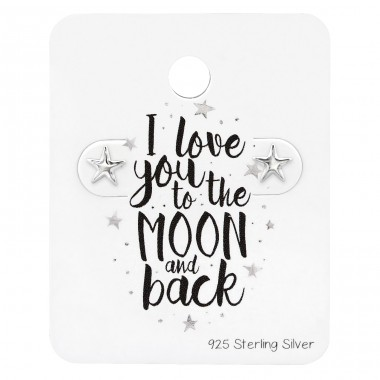Star - 925 Sterling Silver Jewellery Sets A4S34211