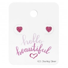 Heart - 925 Sterling Silver Jewellery Sets A4S34212