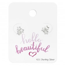 Triple Star - 925 Sterling Silver Jewellery Sets A4S34213