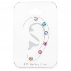 3mm Round Mix - 925 Sterling Silver Jewellery Sets A4S35251
