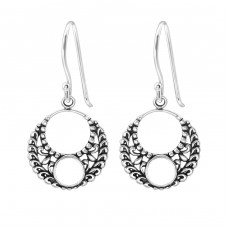 Bali - 925 Sterling Silver Basic Earrings A4S36585