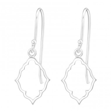 Antique - 925 Sterling Silver Basic Earrings A4S36700