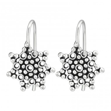 Bubbles - 925 Sterling Silver Basic Earrings A4S39119