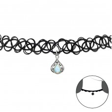 Slza - Striebro 925 Chokers A4S32963