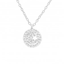 Star - 925 Sterling Silver Necklace with stones A4S38591
