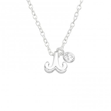Aries Zodiac Sign - 925 Sterling Silver Necklace with stones A4S40162
