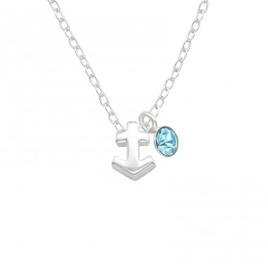 Sagittarius Zodiac Sign - 925 Sterling Silver Necklace with stones A4S40180
