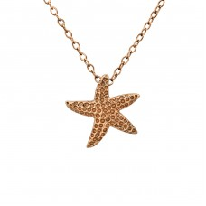 Starfish - 925 Sterling Silver Necklace without stones A4S23782