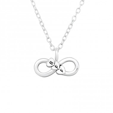 Bff Infinity - 925 Sterling Silver Necklace without stones A4S27416
