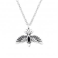 Eagle - 925 Sterling Silver Necklace without stones A4S32244