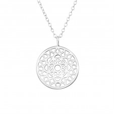 Mosaic - 925 Sterling Silver Necklace without stones A4S36360