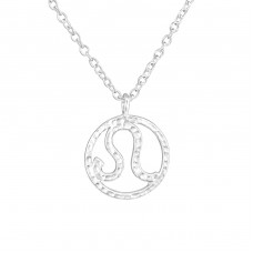 Leo Zodiac Sign - 925 Sterling Silver Necklace without stones A4S36711