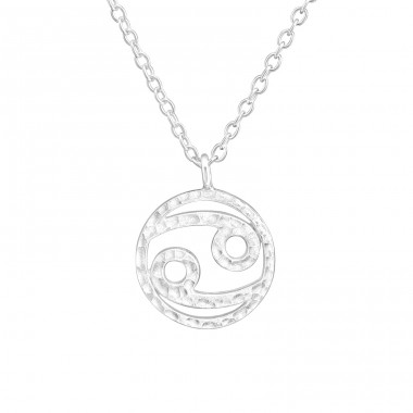 Zodiac Cancer - 925 Sterling Silver Necklace without stones A4S36717