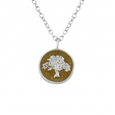 Tree Of Life - 925 Sterling Silver Necklace without stones A4S36728