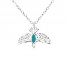 Bird - 925 Sterling Silver Necklace without stones A4S37610
