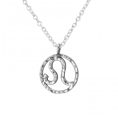 Leo Zodiac Sign - 925 Sterling Silver Necklace without stones A4S39227