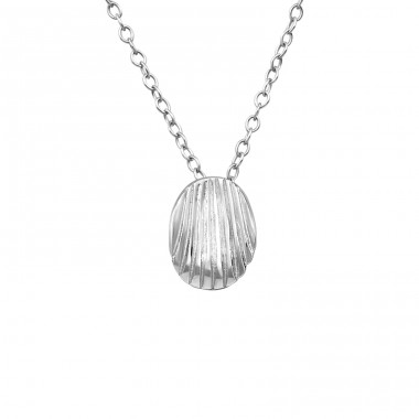 Shell - 925 Sterling Silver Necklace without stones A4S39235