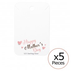 Happy Mother's Day Necklaces Cards - Paper Sets Necklace with Earrings A4S35835