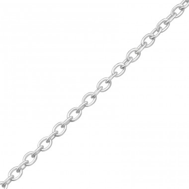 41 cm Cable - 925 Sterling Silver Silver Chains A4S11337