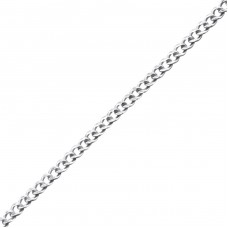 41 cm Curb - 925 Sterling Silver Silver Chains A4S23874