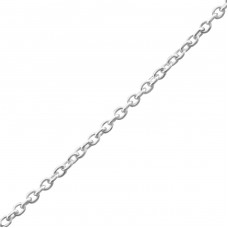 45 cm Cable - 925 Sterling Silver Silver Chains A4S23895