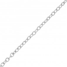 40 cm Cable - 925 Sterling Silver Silver Chains A4S35221