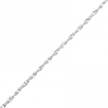 45cm Singapore Chain - 925 Sterling Silver Silver Chains A4S36057