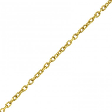 45cm Silver Cable Chain With 7cm Extension Included - 925 Sterling Silver Silver chains A4S38131