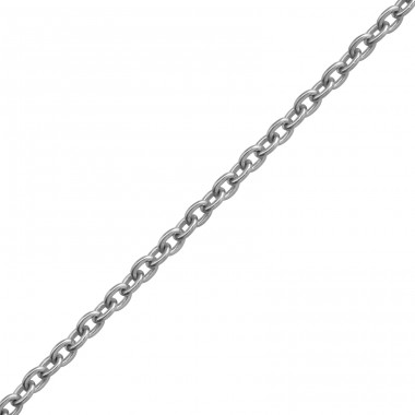 45cm Silver Cable Chain With 7cm Extension Included - 925 Sterling Silver Silver chains A4S38135