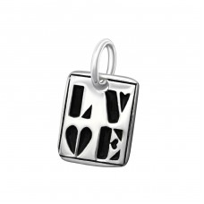 Tag Love - 925 Sterling Silver Basic Pendants A4S10353