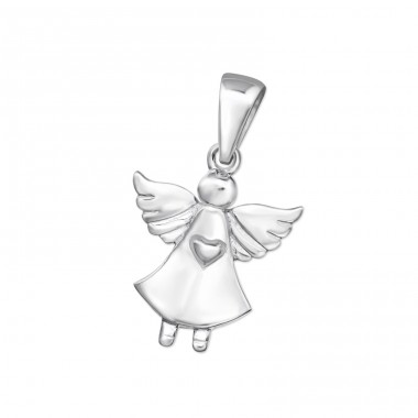 Angel - 925 Sterling Silver Basic Pendants A4S14967
