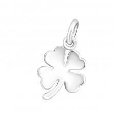 Lucky Clower - 925 Sterling Silver Basic Pendants A4S16460