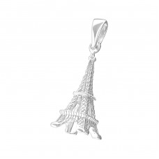 Eiffel Tower - 925 Sterling Silver Basic Pendants A4S20436