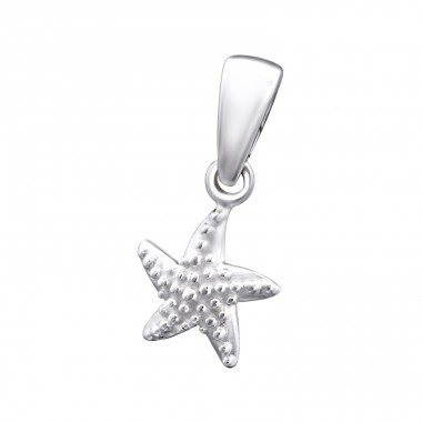 Starfish - 925 Sterling Silver Basic Pendants A4S24962