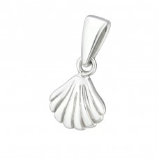 Shell - 925 Sterling Silver Basic Pendants A4S24970