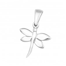 Dragonfly - 925 Sterling Silver Basic Pendants A4S2968
