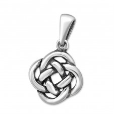 Celtic - 925 Sterling Silver Basic Pendants A4S33321