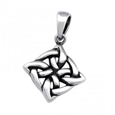Celtic - 925 Sterling Silver Basic Pendants A4S33385