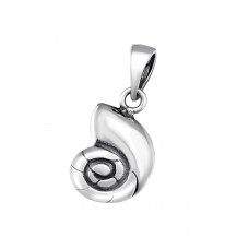 Shell - 925 Sterling Silver Basic Pendants A4S34667