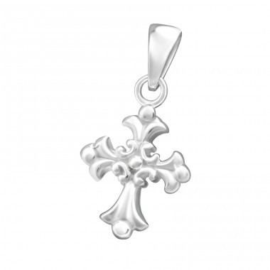 Cross - 925 Sterling Silver Basic Pendants A4S36739
