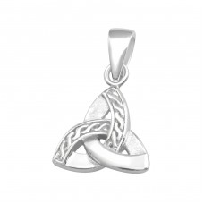 Celtic Knot - 925 Sterling Silver Basic Pendants A4S36745