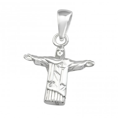 Jesus - 925 Sterling Silver Basic Pendants A4S36749