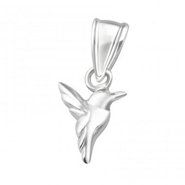Bird - 925 Sterling Silver Basic Pendants A4S36917