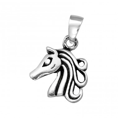 Unicorn - 925 Sterling Silver Basic Pendants A4S39126