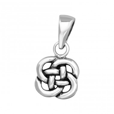 Celtic - 925 Sterling Silver Basic Pendants A4S39466