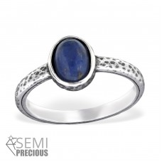 Oval - 925 Sterling Silver Rings with Zirconia stones A4S30660