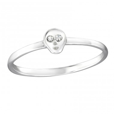 Alien - 925 Sterling Silver Rings with Zirconia stones A4S30994