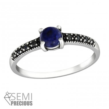 Solitaire - 925 Sterling Silver Rings with Zirconia stones A4S32310