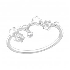 July-Leo Constellation - 925 Sterling Silver Rings with Zirconia stones A4S38595