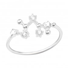 November Sagittarius - 925 Sterling Silver Rings With Zirconia Stones A4S39223